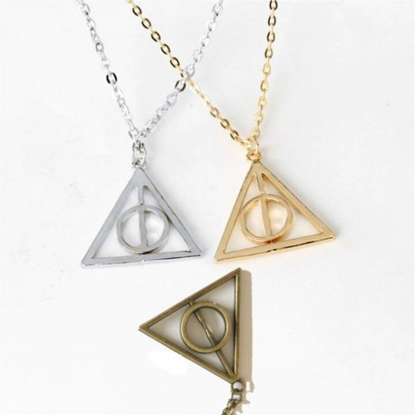 Harry Potter Dealthy Hallows Pendant Necklace