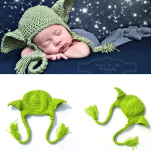 Baby Yoda Knitted Hat