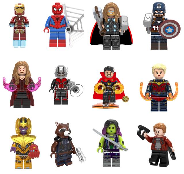 Lego Avengers Endgame Minifigures Pack