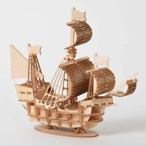 Sailboat model kit