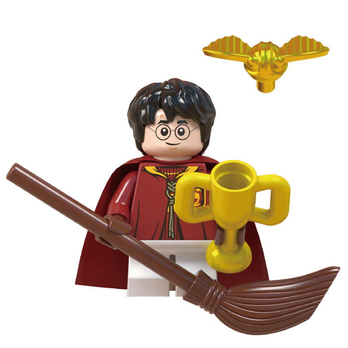 Harry Potter Quidditch cup minifigure
