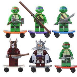 Lego TMNT Minifigures