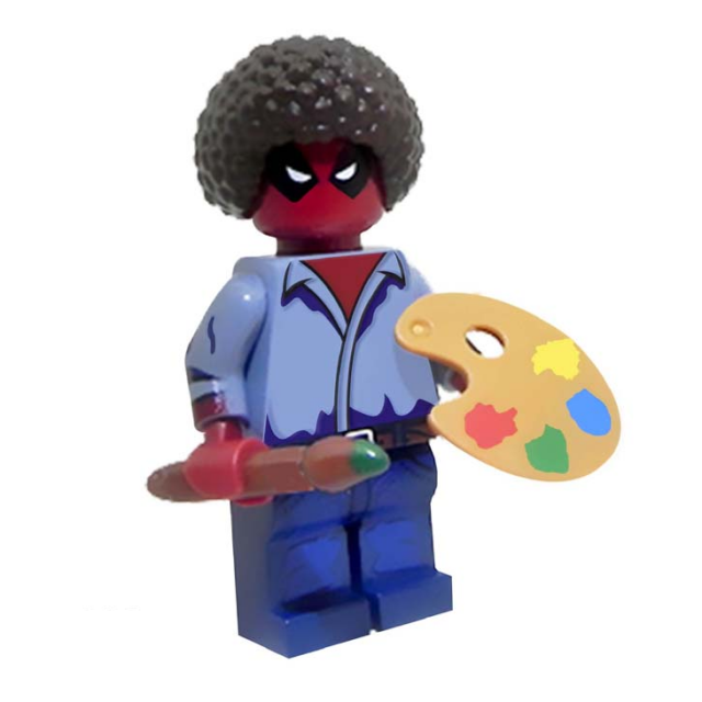 Lego Deadpool Boss Ross