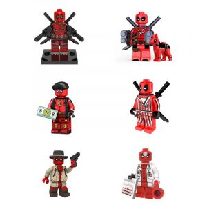 lego deadpool set minifigures