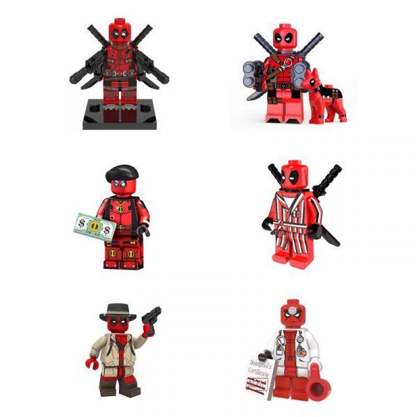 lego deadpool set minifigures