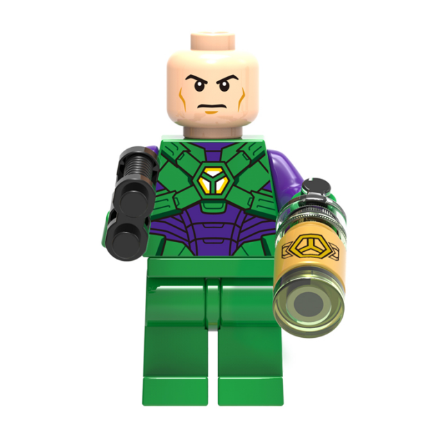Lego Lex Luthor figure