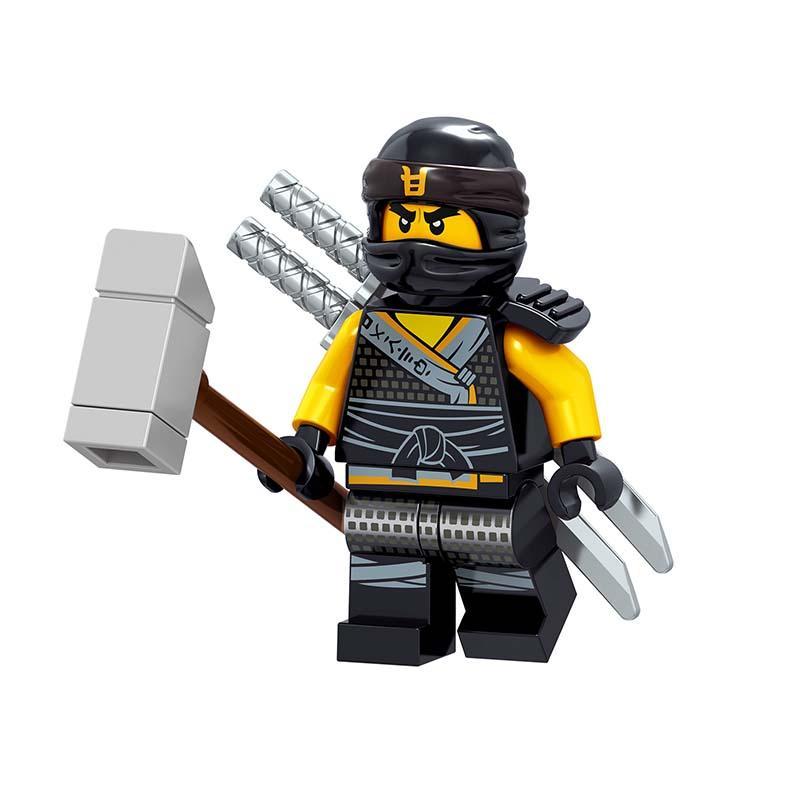 Lego Ninjago Cole Minifigure