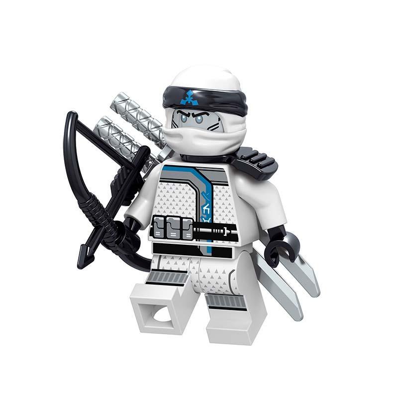 Lego Ninjago Zane Minifigure
