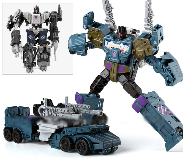 Transformers Combiner Wars Onslaught Figure