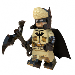 Lego Red Son Batman minifigure