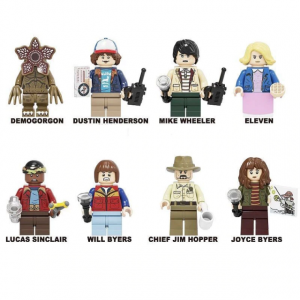 Lego Stranger Things minifigures set