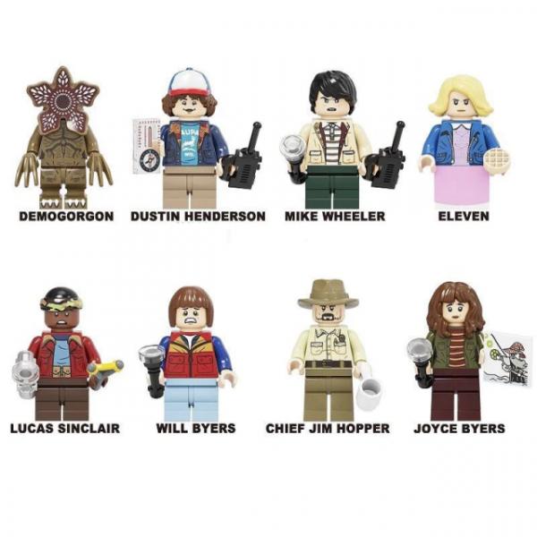 Lego Stranger Things minifigures set