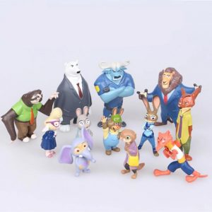 Zootopia figures set