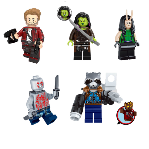 Guardians of the Galaxy Minifigures