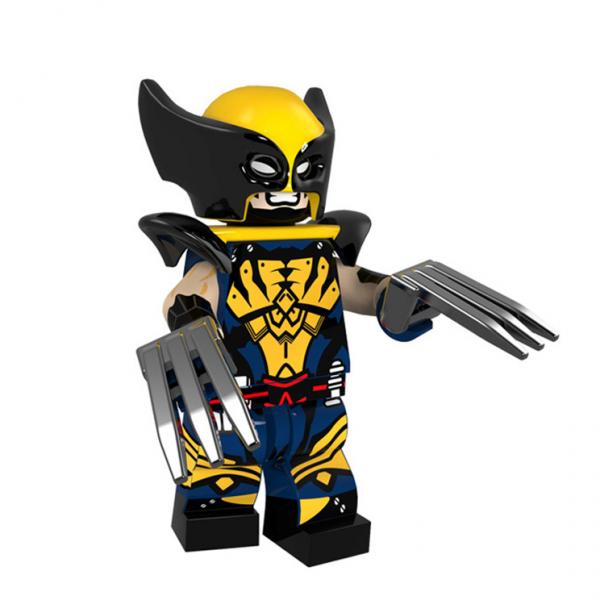Lego Wolverine Minifigure