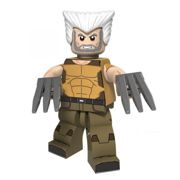 Lego Old Wolverine Minifigure