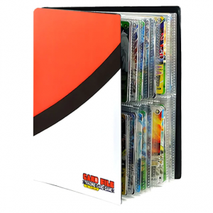 Pokemon Binder - Pokeball Red & White